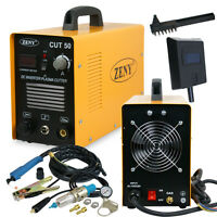 Plasma Cutter CUT50 Digital Inverter 110/220V Dual Voltage Plasma Cutter Zeny