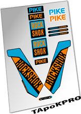 Brand New Custom RockShox Pike fork lapierre glossy lamination stickers decals