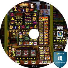 V3.0 Fruit Machine Emulator DVD PC Laptop Simulator Slot Windows 10 Tablet Game
