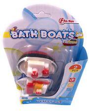 badeboot DAMPFER CARGUERO Barco 2 Piezas Impresión Pistola Juguetes para el baño