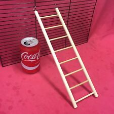 Small Animal Wooden Ladder 12 X 3 Inch Hamster Rat Gerbil Mouse Dwarf Hamster