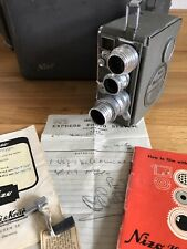 Nizo Heliomatic 8 Model S2R 8mm Movie Camera Schneider-Kreuznach Lenses