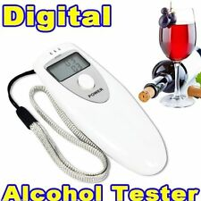 PORTABLE MINI LCD DIGITAL ALCOHOL BREATH TESTER ANALYZER BREATHALYZER