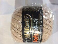Milford Cotton 4 PLY 50g FAWN #21 Dye Lot 2