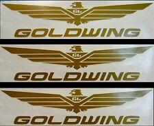 (Set of 3)  9 Inch Helmet Decals For Honda Goldwing Rider GW-9