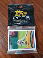 2006 Topps Baseball Series 1 & 2 Factory Sealed Cello Pack- Full checklist below