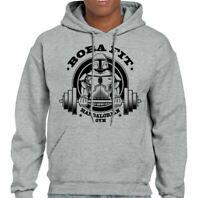 Bobafit Gym T-shirt Boba Fet Bounty Hunter Star Wars Funny Empire Rebel grey