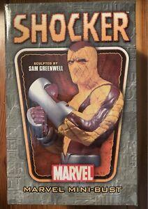 THE SHOCKER Mini Bust Randy Bowen, NEW Spider-Man Marvel 564/1800