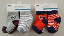 NEW Old Navy Baby Boys 0-6 MONTHS Crew Socks 12 PAIR Sports & Food #428418