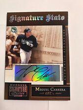 2005 Donruss Signature Series Miguel Cabrera #SS-9 Shots AUTO Autograph
