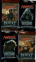 MAGIC THE GATHERING AETHER REVOLT - SHADOWS OVER INNISTRAD  4 BOOSTER PACK LOT
