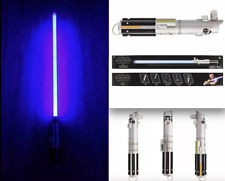 NEW DISNEY PARKS Star Wars REY LUKE ANAKIN Lightsaber w/Removable Blade & Stand