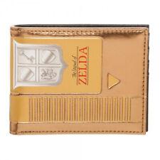 Nintendo The Legend of Zelda Gold Cartridge Bifold Wallet