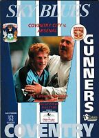 Football Programme>COVENTRY CITY v ARSENAL Apr 1997