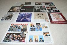 LOT of 12 MADONNA  Magazine Article Ad Photo Clipping 001