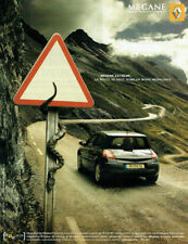 Publicité Advertising 1020 2005   Renault Mégane Extreme 5 portes