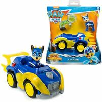PAW Patrol Mighty Pups Super Paws - Chase's Deluxe Transforming Vehicle & Pup