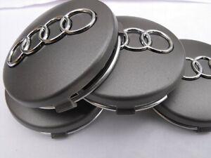 SET 4pz Tappi Coprimozzo  AUDI  A3, A4, A5, A6, Q3, Q5, Q7