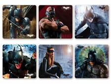 6 x Square Stickers ~ Batman The Dark Night Rises Cat Woman Party Favours ~