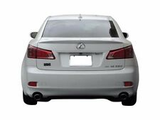 #558 PAINTED FACTORY STYLE SPOILER fits the 2007-2013 Lexus IS 250 IS350