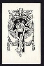 09)Nr.137- EXLIBRIS- Jugendstil / art nouveau, A.de Riquer