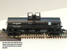 N SCALE: 11,000 GALLON TANK CAR - ATLAS #43962 - OLIN MATHIESON  #5608
