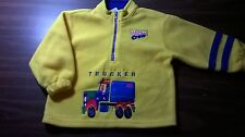 Boy's Toddler Buster Brown  'Jr Pro Trucker' Fleece-Like Pullover Jacket Size 2T