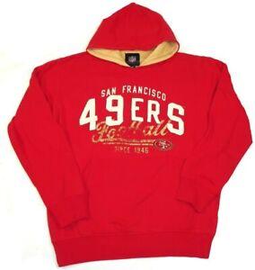 G-III Sports San Francisco 49ers Men's Field Goal Pullover Hoody Sweatshirt