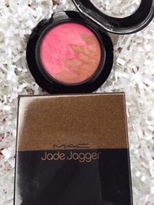 MAC JADE JAGGER Mineralize Blush Duo PERFECT BRONZE .11g Full Size - NEW in Box!