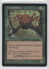 1997 Magic: The Gathering - Tempest Booster Pack Base NoN Canopy Spider Card 0a0