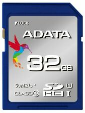 ADATA Premier SDHC UHS-I Class10 32GB 50MB/s Full HD Camera Flash Memory Card