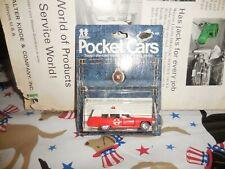 Vintage Tomy Pocket Cars No 181-F60 Cadillac Ambulance MOC 1974