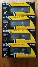 K-LINE 6252-1311 C&NW DIE-CAST 2-BAY SMOOTH SIDED HOPPER 4-PACK
