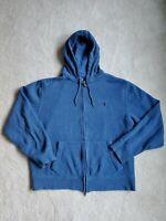 Polo Ralph Lauren Men's Full-Zip Heavyweight Sweatshirt Jacket Cotton Size Large