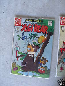 1971 Charlton Comics Yogi Bear Comic Book #8