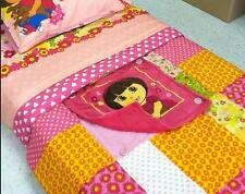TWIN / FULL Nickelodeon - Dora the Explorer Puppy CUDDLE BLANKIE & COMFORTER SET