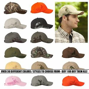 DRI DUCK - Men's, Unisex, Outdoor, Wildlife Series Hunting Caps, Baseball Hats