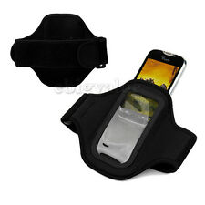 WORKOUT GYM WATERPROOF ARMBAND CASE FOR Samsung Galaxy Player 4.2 /3.6 /50 BLACK