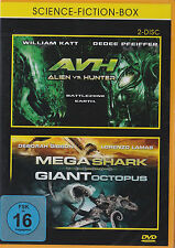 Trash Asylum Box - AVH Alien vs. Hunter & Mega Shark vs. Giant Octopus - 2 DVDs