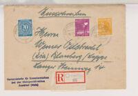 Gemeinsch.Ausg. Mi. 954,u.a., Not-R-Frankfurt - Blomberg, 29.7.47