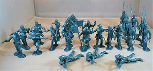 Marx Civil War Union Infantry Metallic Blue