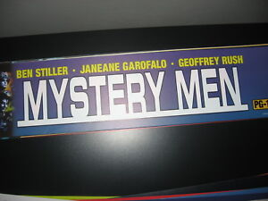 Theater Marquee Mylar Mystery men