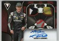 2019 Panini Victory Lane Triple Swatch Signature Red Relic AUTO /25 Kasey Kahne
