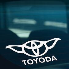 TOYODA Funny Novelty Car,Window,Bumper JDM JAP Vinyl Decal Sticker