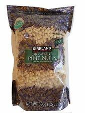 Kirkland Signature Organic Pine Nuts Ideal for Pasta & Salads 1.5 LB