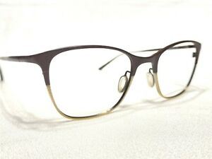 Oliver Peoples Abbe OV1153T 5195 Women's Brown & Gold Eyeglasses Frames 48/19