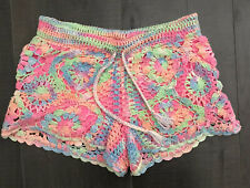 flowers by zoe crochet shorts Girls Size M 10