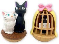 Studio Ghibli via Bluefin Kiki's Delivery Service Jiji & Lily Tilting Figure set