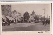 London; Ealing Broadway RP PPC, 1913 PMK, By Wakefields, Animated Street Scene