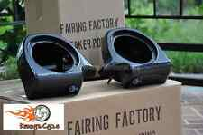Speaker Pods for Harley vented lowers glove box for HD h-d pod - Fairing Factory